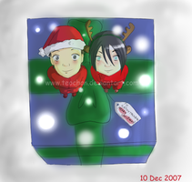 Christmas contest by Teochan