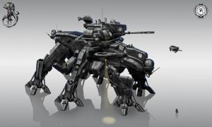 helldiver command walker by StTheo