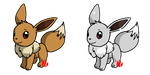 Pokemon #133 - Eevee by Fyreglyphs