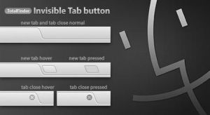 TotalFinder Tabs Button Replacement by Gpopper