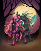 MLP - Nightmare Cotton and Greg by merrypaws