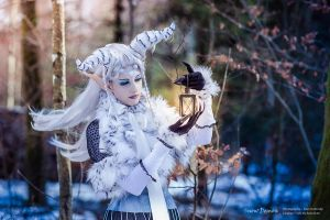 Snowdemon - Winter light by RomaiLee