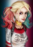 Suicide Squad Harley Quinn (Margot Robbie) by kad1984