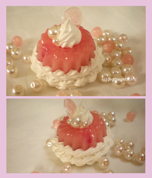 Fruits Jelly Keychain by JagoSweetsCafe