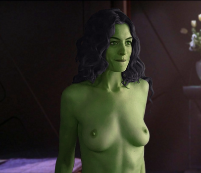 Anne Hathaway as an Orion by thatgeekchick