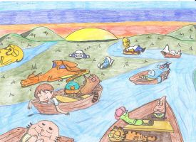 The Lazy River by Finnjr63