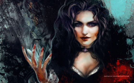 Yennefer of Vengerberg (w) by JustAnoR