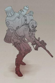 Steampunk Spec Ops by Prospass