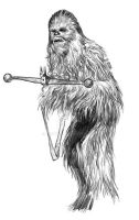 Chewbacca by jasonpal