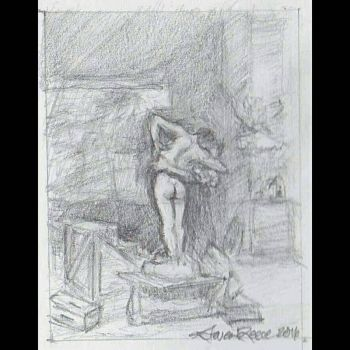 Study of Pygmalion and Galatea by Gerome by DifferentArtWorks