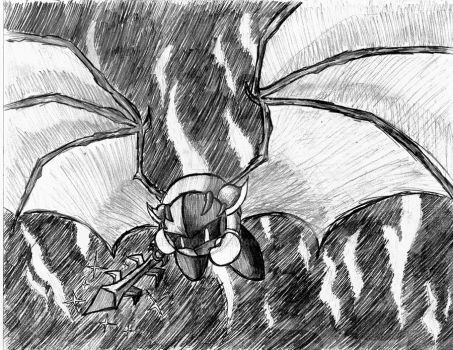 meta knight takes flight by metamorro