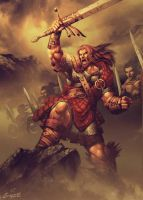 William Wallace by GENZOMAN