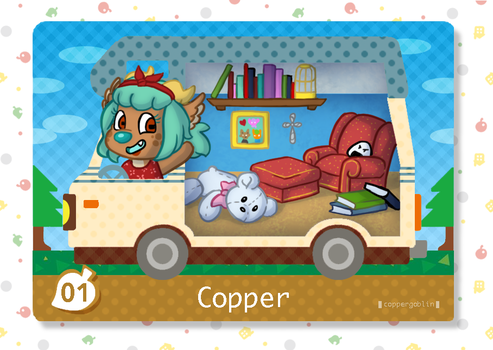 Animal Crossing - Welcome Copper by CopperSpy
