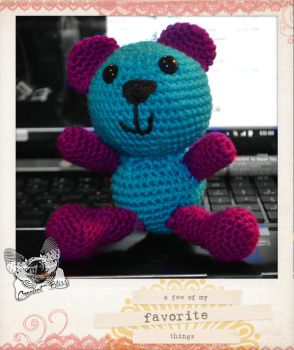 Giveaway bear by Blissful-Creations