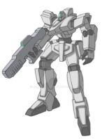 Grunt Mech with Rifle by Balder8472