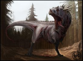 COW: Zombie Dinosaur by GuthrieArtwork