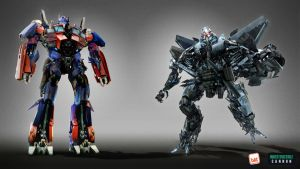 TF3 DOM -ViS- OP n Starscream by GeneralSoundwave