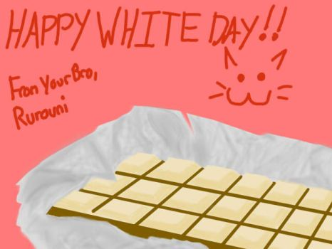 A Happy white day to All by RurouniGundam