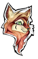 Fox Badge by FREAKKATT
