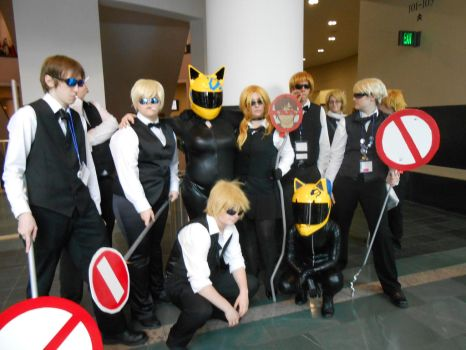 Anime Boston 13 [Celty and Shizuo] by Black-Angel-of-Mercy