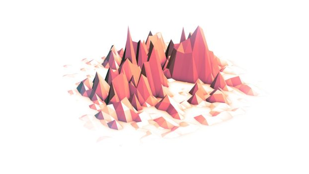 Lowpoly Island by AdnanWolf