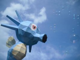 Horsea papercraft by TimBauer92