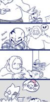 [UNDERTALE] Don't Touch that Arial by Maxx2DXtreame