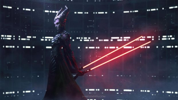 Darth Maleficent by jameszapata