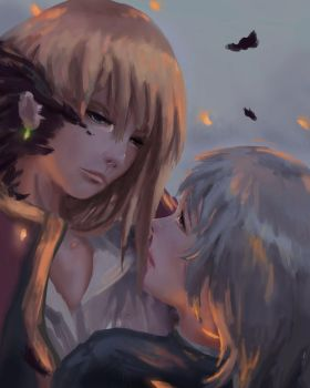 Howl and Sophie by Diylion