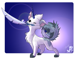 Great Hero Shinybutt and Shinyblade by JB-Pawstep