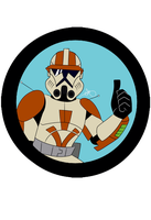 Star Wars - Commander Cody #3 - Clean by Frosty-Art