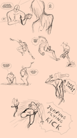 Dynamic/Expressive Poses! [Usable as References] by Dex91