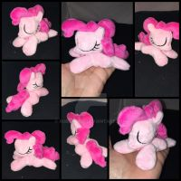 4.5in mini sleeping Pinkie plushie ::Commission:: by RubioWolf