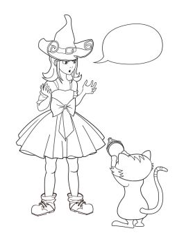 Princess Pepper for coloring by JanaKus