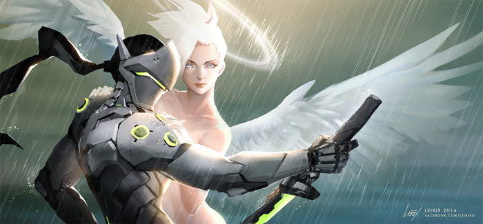 Mercy's best creation by Leirix