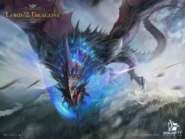 Lord of the Dragons by Grafit-art