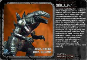 G Unleashed: Zilla by MegaZeo