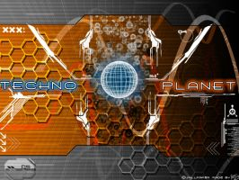 Techno planet by Rely