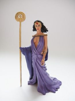 Queen Hippolyta custom action figure by Jedd-the-Jedi