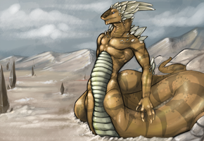 Sand Dragon by Tojo-The-Thief