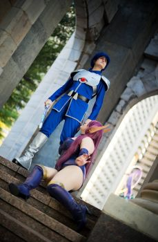 Phantasy Star 2: Leaving Paseo by august-fehrmont