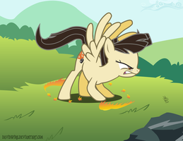 Wild Fire (powering up) by davidsfire