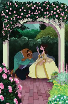 Belle and the Beast by spicysteweddemon