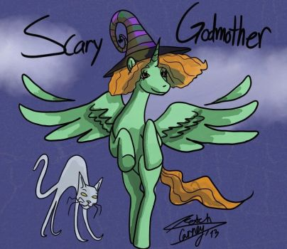 Scary Godmother by TheEyelessProphet