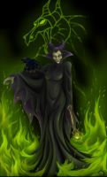 Maleficent by Dinfreal