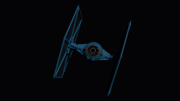 Tie Fighter by kbmxpxfan
