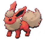 136 - Flareon by Devi-Tiger