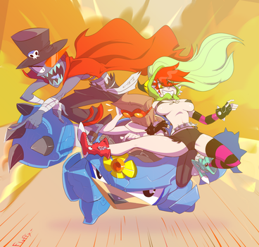 The Mind Of Demencia by spartacus13