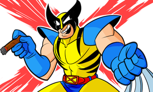 Wolvie colors x by wadedraws