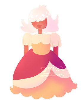 Padparadscha is a cute babe by flamingaquastar